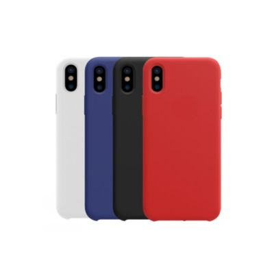 Silicone Case For iPhone X / XS
