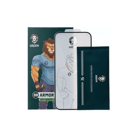 Green Lion 3D PET HD Glass Screen Protector For iPhone 12 Pro