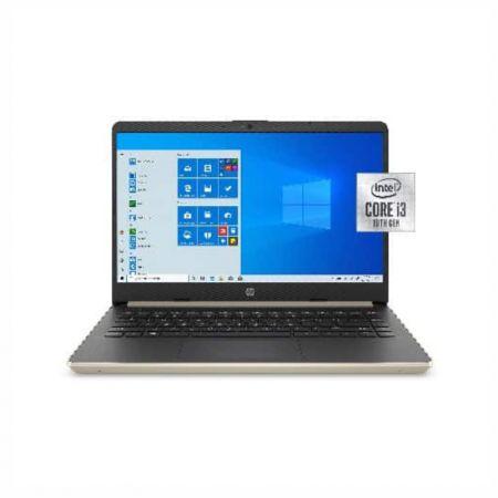 "HP Notebook 14-dq1038wm, 14"" HD Display, Intel Core i3-1005G1 1.2 GHz, 4GB RAM, 128 GB SSD, Intel UHD Graphics, Windows 10"