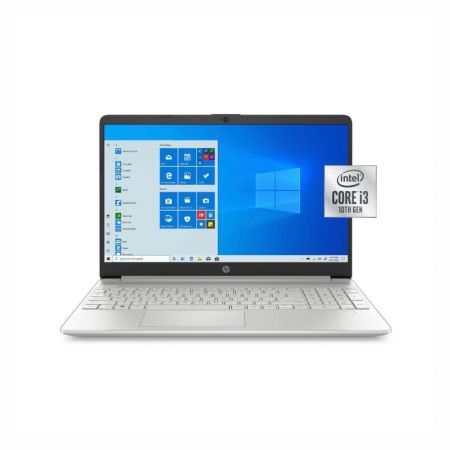 "HP Laptop 14-dq1077wm, 14"" HD Display, Intel Core i3-1005G1 1.2 GHz, 8GB RAM, 256GB SSD, Intel UHD Graphics, Windows 10"