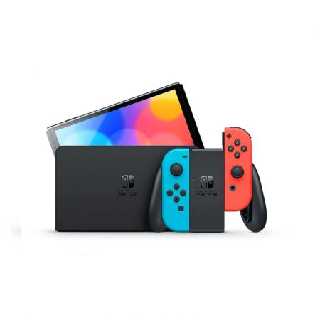 Nintendo Switch - OLED Model Neon Red and Blue Console