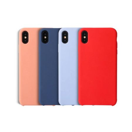 Silicone Case For iPhone XS Max